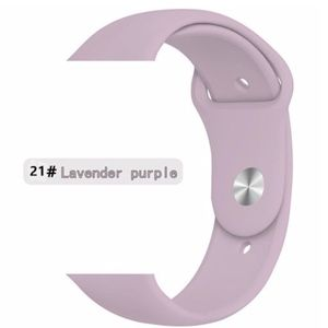NEW LAVENDAR Sport Silicone Band For Apple Watch